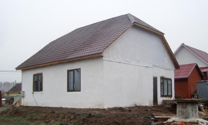 Как построить жилой дом за 200 тысяч рублей