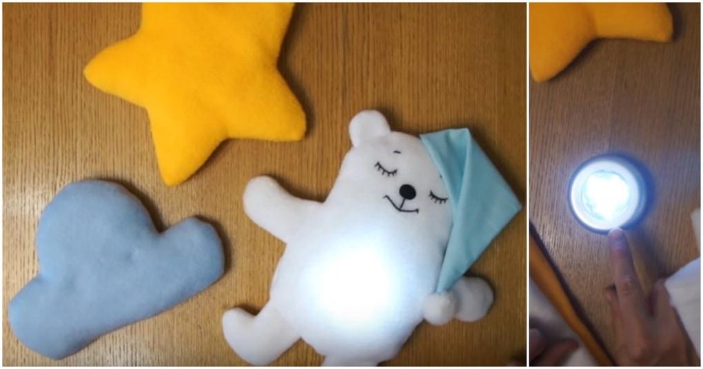 Супер-ночник игрушка: очень просто и уютно