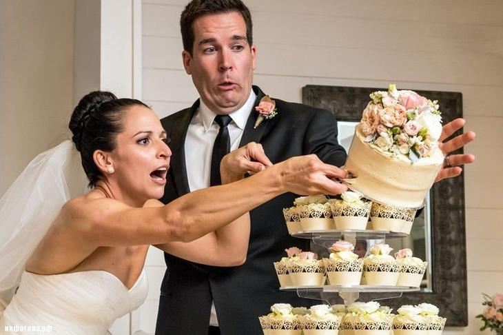 фото на свадьбу неудачные