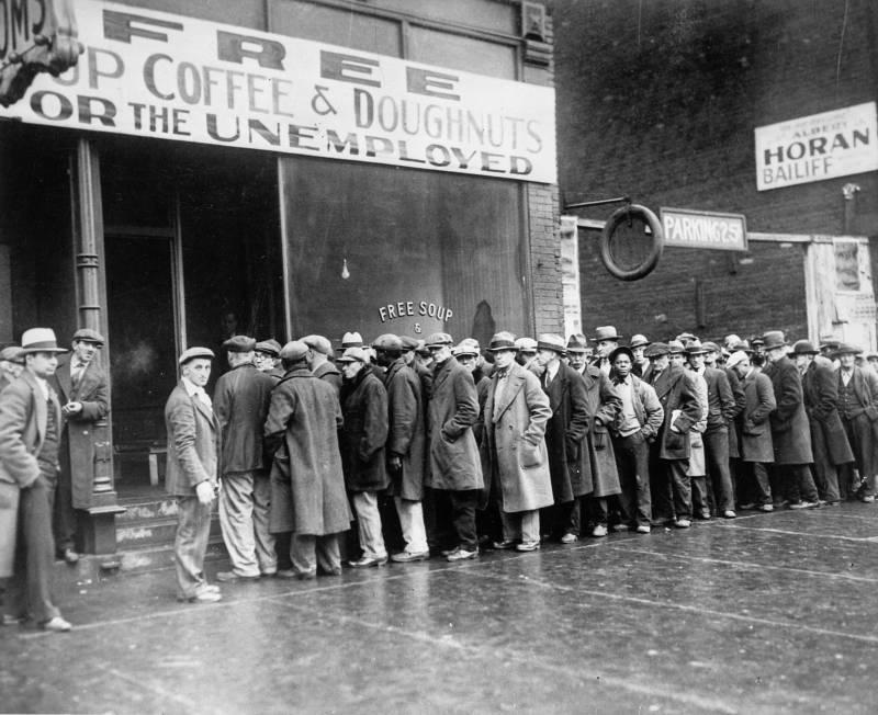 Великая депрессия в США – как все было история