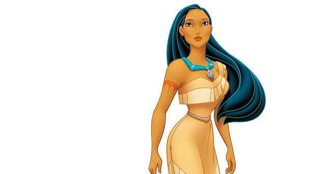 Потрясающая Покахонтас девушка, дисней, макияж, превращение