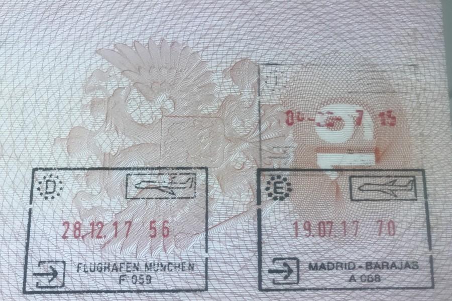 Возмутительный паспортный контроль в Мюнхене для россиян