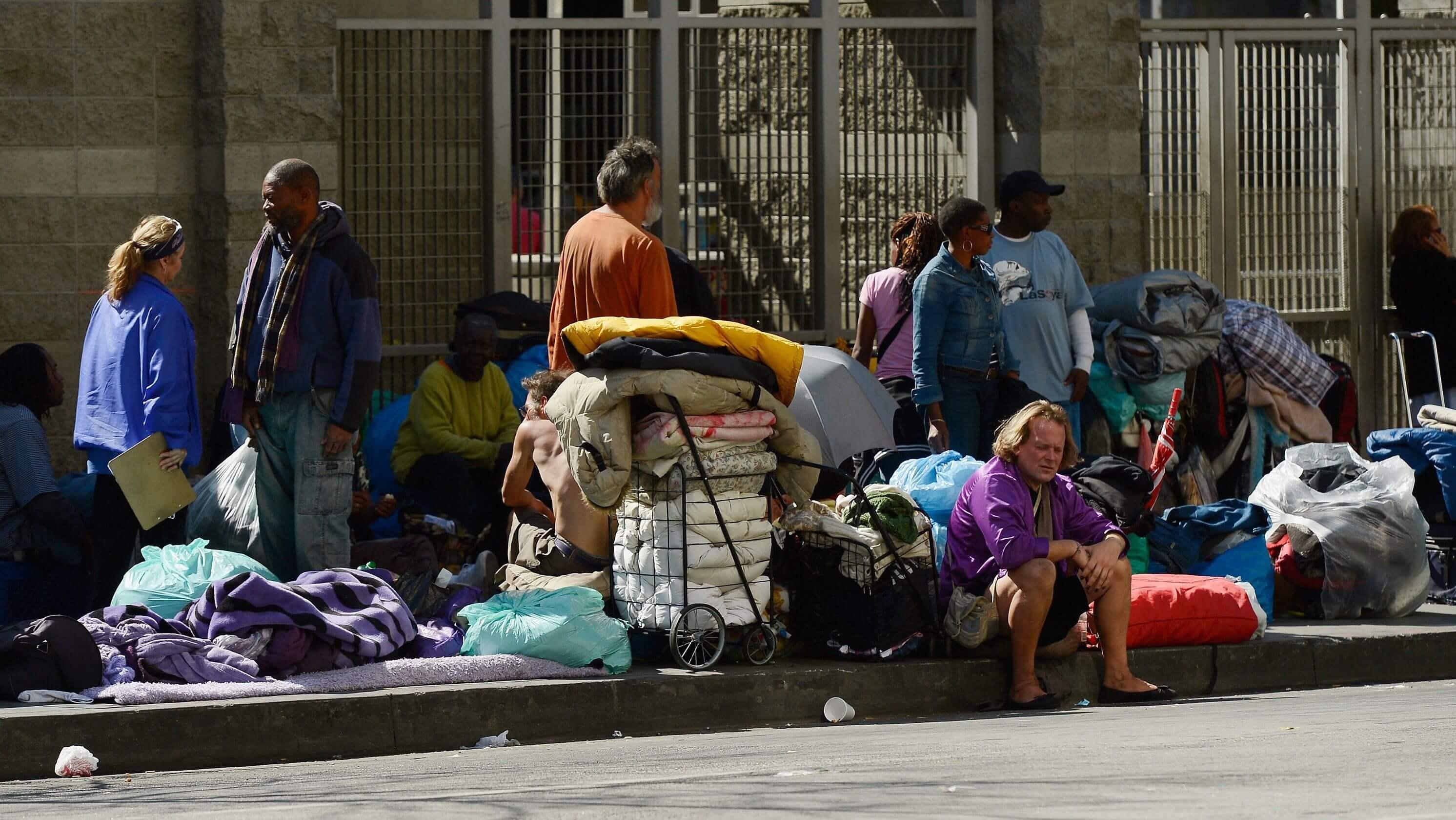 Бедность в сша фото