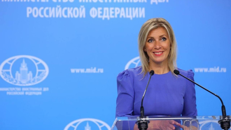 Захарова заявила о потворстве ЕС и США украинским диверсиям в Крыму Политика