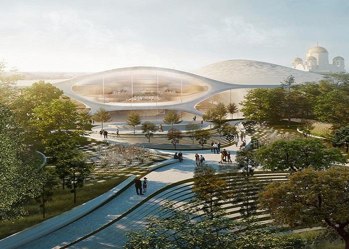 В Екатеринбурге появится новый футуристический концертный зал по проекту архбюро Захи Хадид