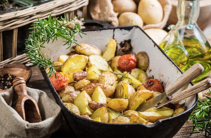 Лучший картофель в духовке, который вы когда-либо пробовали