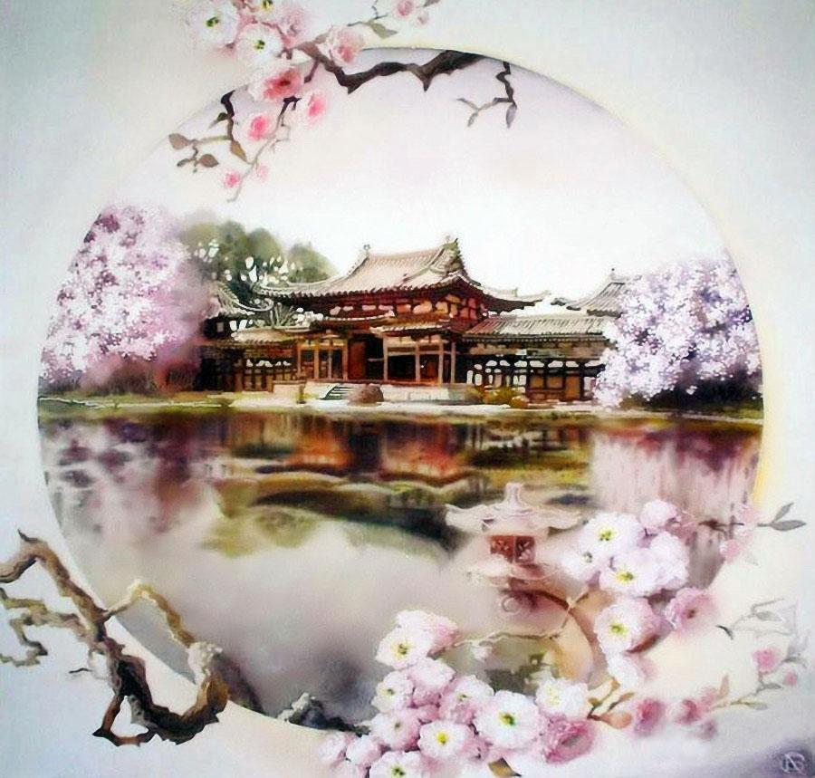 Китай япония картинки для декупажа