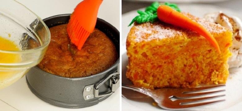 Морковный пирог с апельсином
