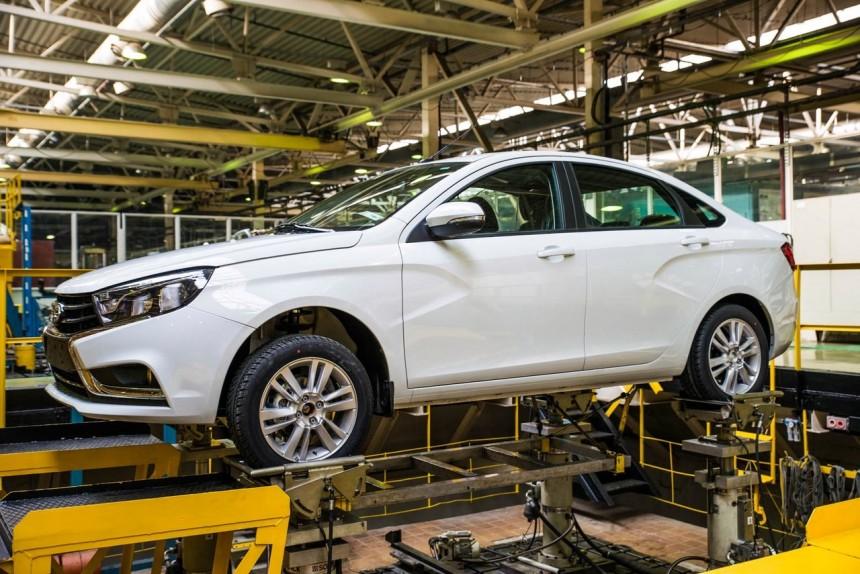 Lada Vesta оказалась вдвое жёстче «Приоры»