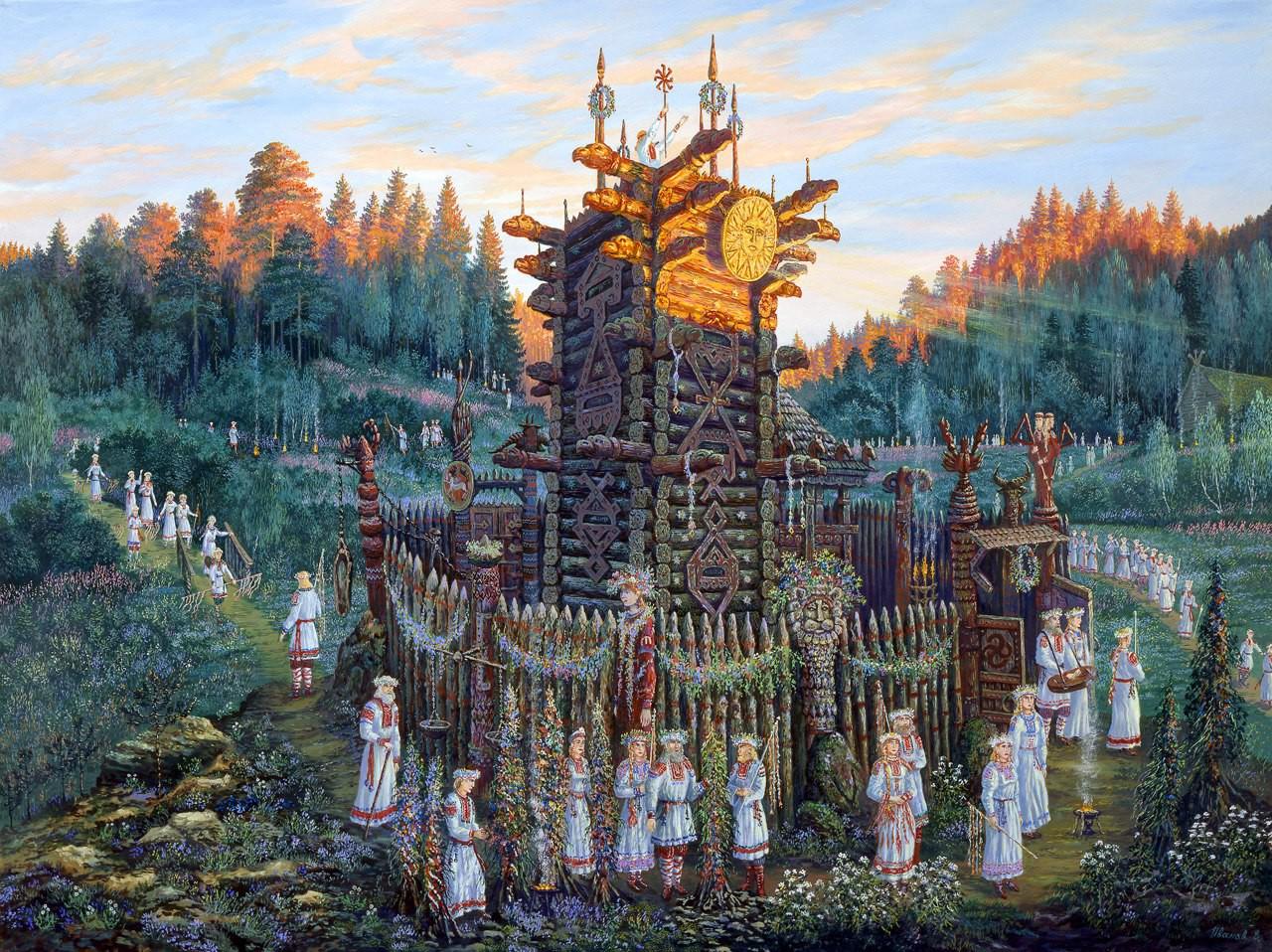 7 самых странных обрядов древних славян
