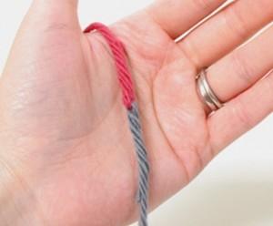 Соединение нитей без узлов