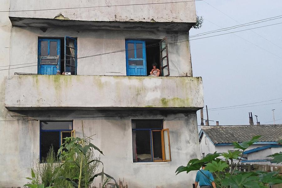 Внутри Северной Кореи: новые фотографии нищеты