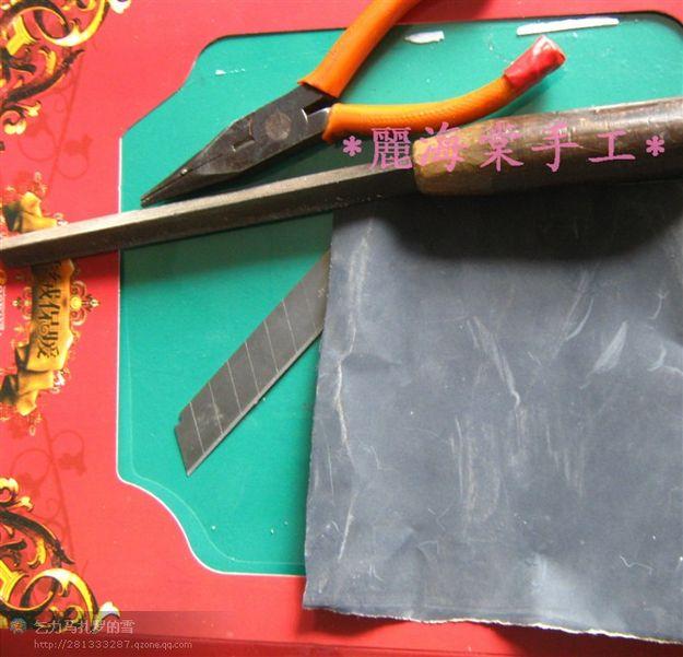 крючок для вязания из старой зубной щётки мк