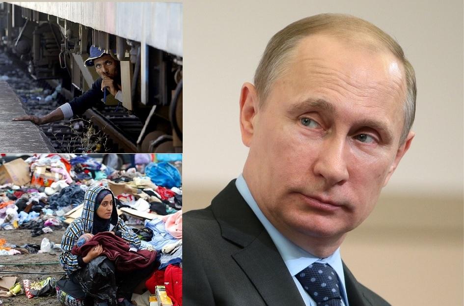Европа канет в Лету под натиском Путина и мигрантов