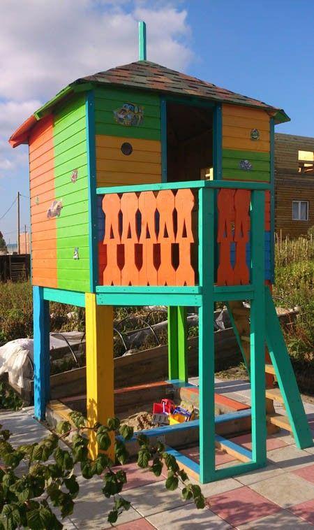 Дачный домик для ребенка своими руками