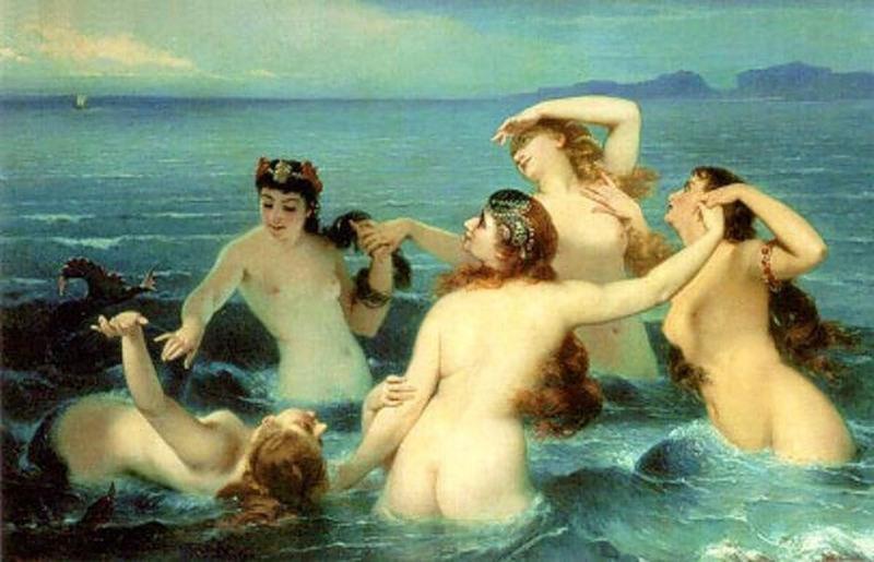 Греческая мифология. Наяды