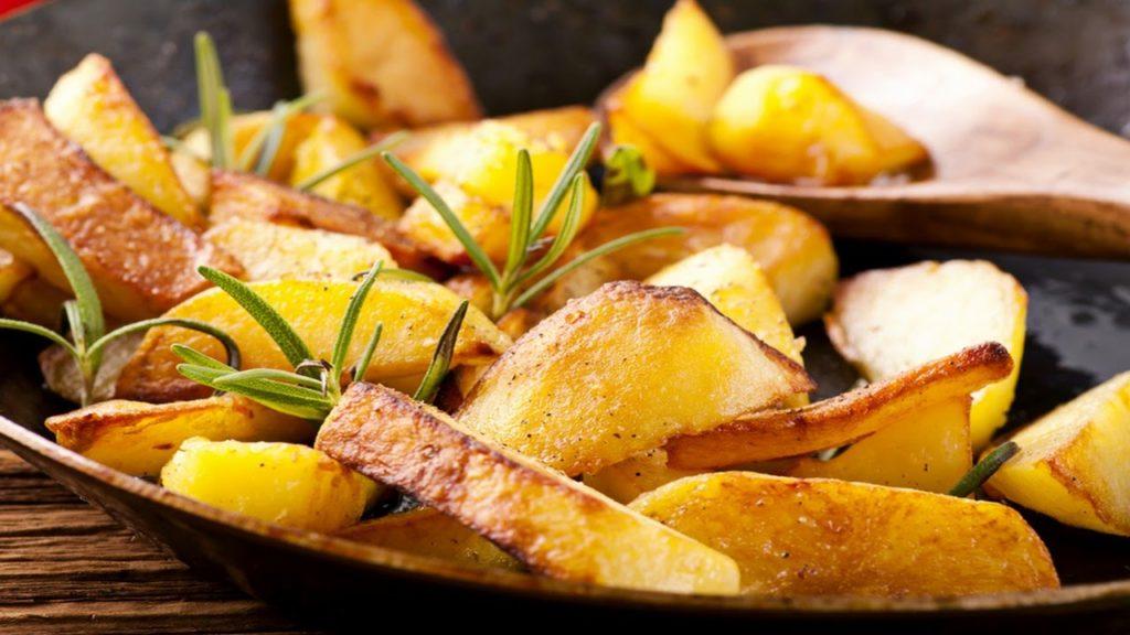 Жареный картофель в Амстердаме