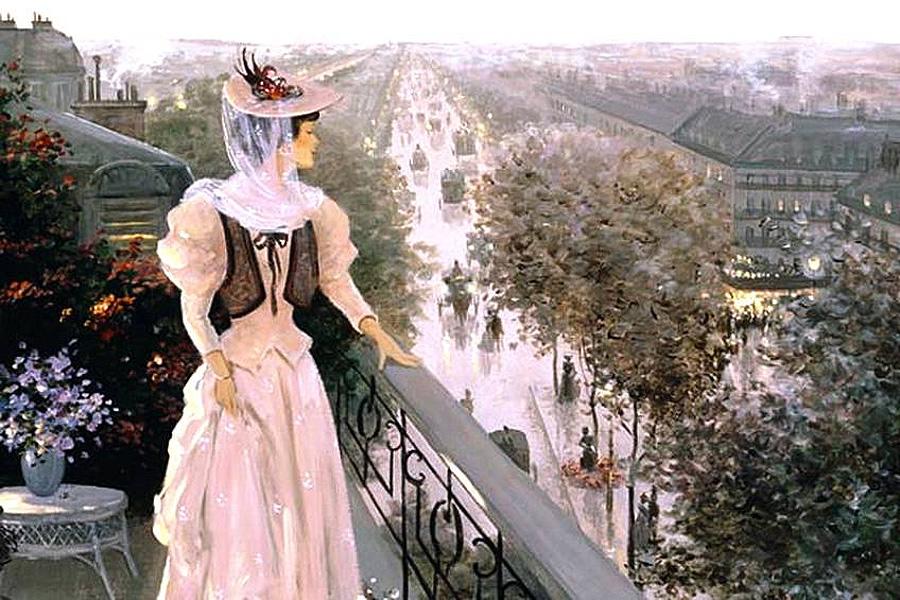 Christa Kieffer - о Париже с любовью