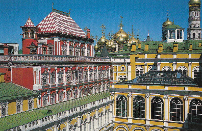 Московский Кремль.Часть 9. Большой кремлевский дворец. Теремной дворец..