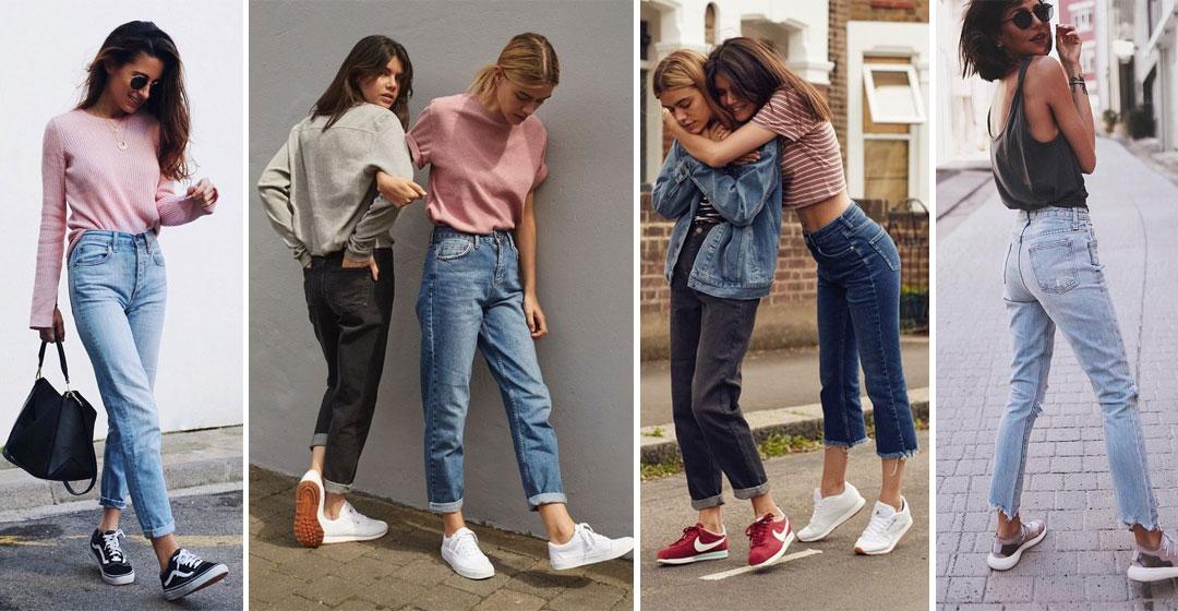 С чем носить джинсы: 5 фасонов, 4 стиля и 35 образов