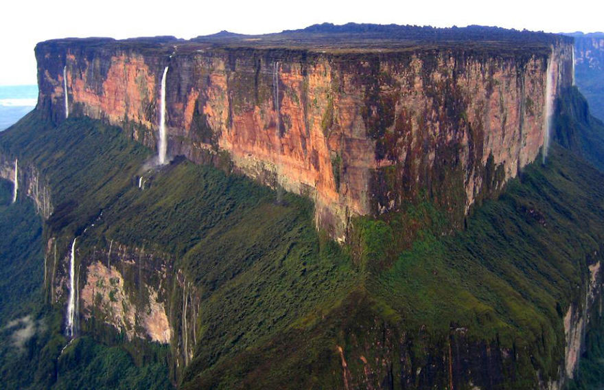 14. Гора Рорайма, Венесуэла красота, пейзажи, природа