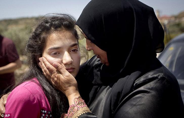 12-летняя палестинская девочка, пережившая ужасы израильской тюрьмы