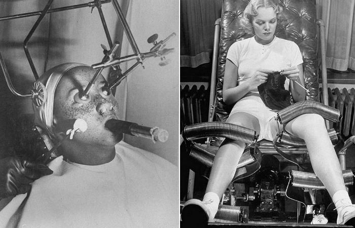 14 аппаратов из кабинета косметолога прошлого века, которые испугают даже мужчин (15 фото)