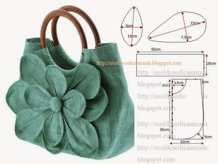 Интересные выкройки сумок