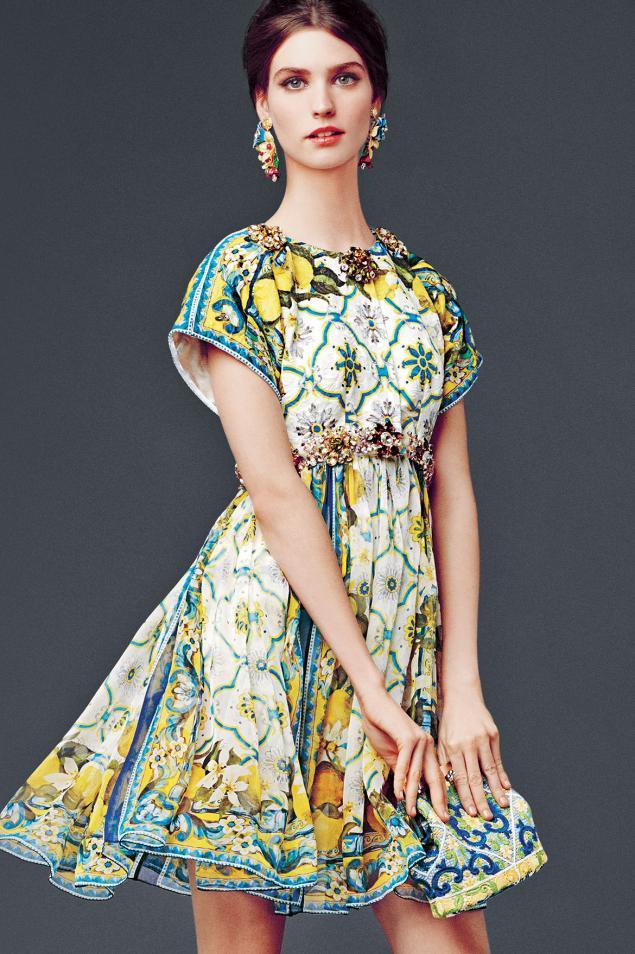 Lookbook круизной коллекции Dolce&Gabbana. Вышивка снова в тренде!