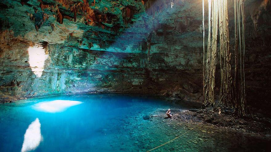 13. Сенот Самула, Мексика красота, пейзажи, природа