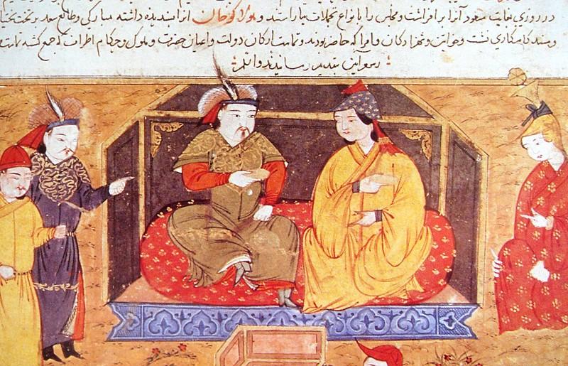 Монгольская царица Докуз - хатун