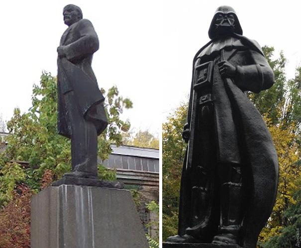 В Одессе Ленина превратили в…