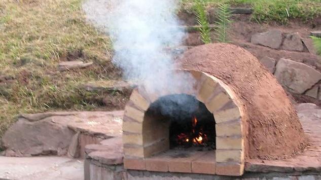 Как построить печь для дачи 177