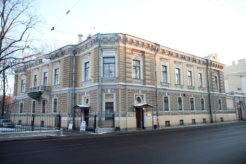 Петербург. Особняк военного …