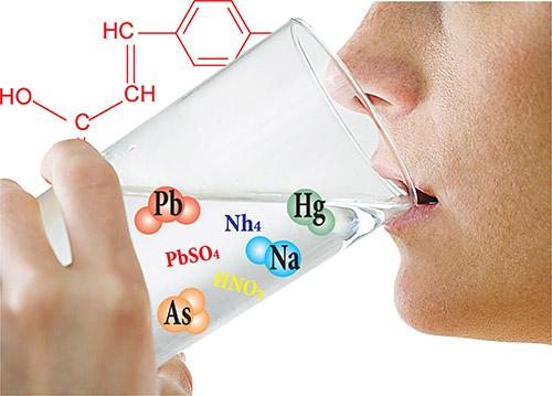 Вредные вещества в питьевой воде