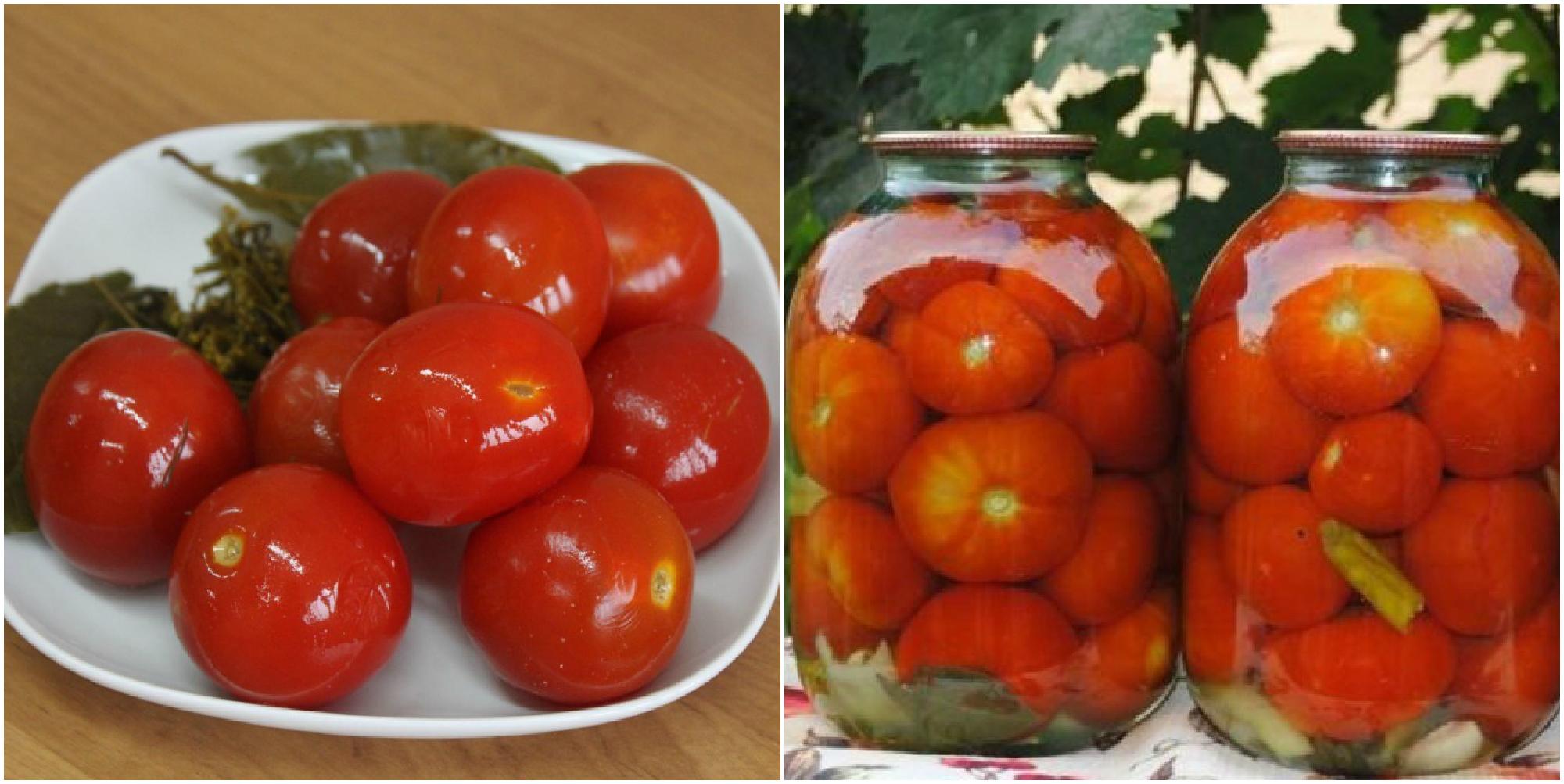 Вкусненькие помидоры в банках на зиму. Рецепт, который должен быть у каждой хозяйки!