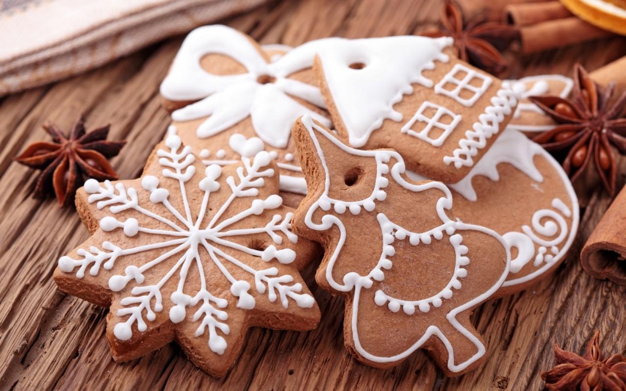 Имбирного печенья много не бывает! Традиционное новогоднее лакомство!
