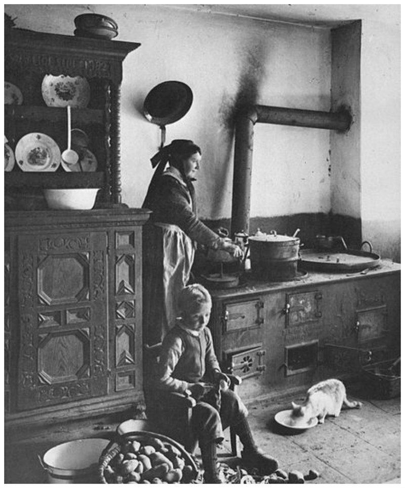 1903 всячина, интересное, история, кухня, плита, факты