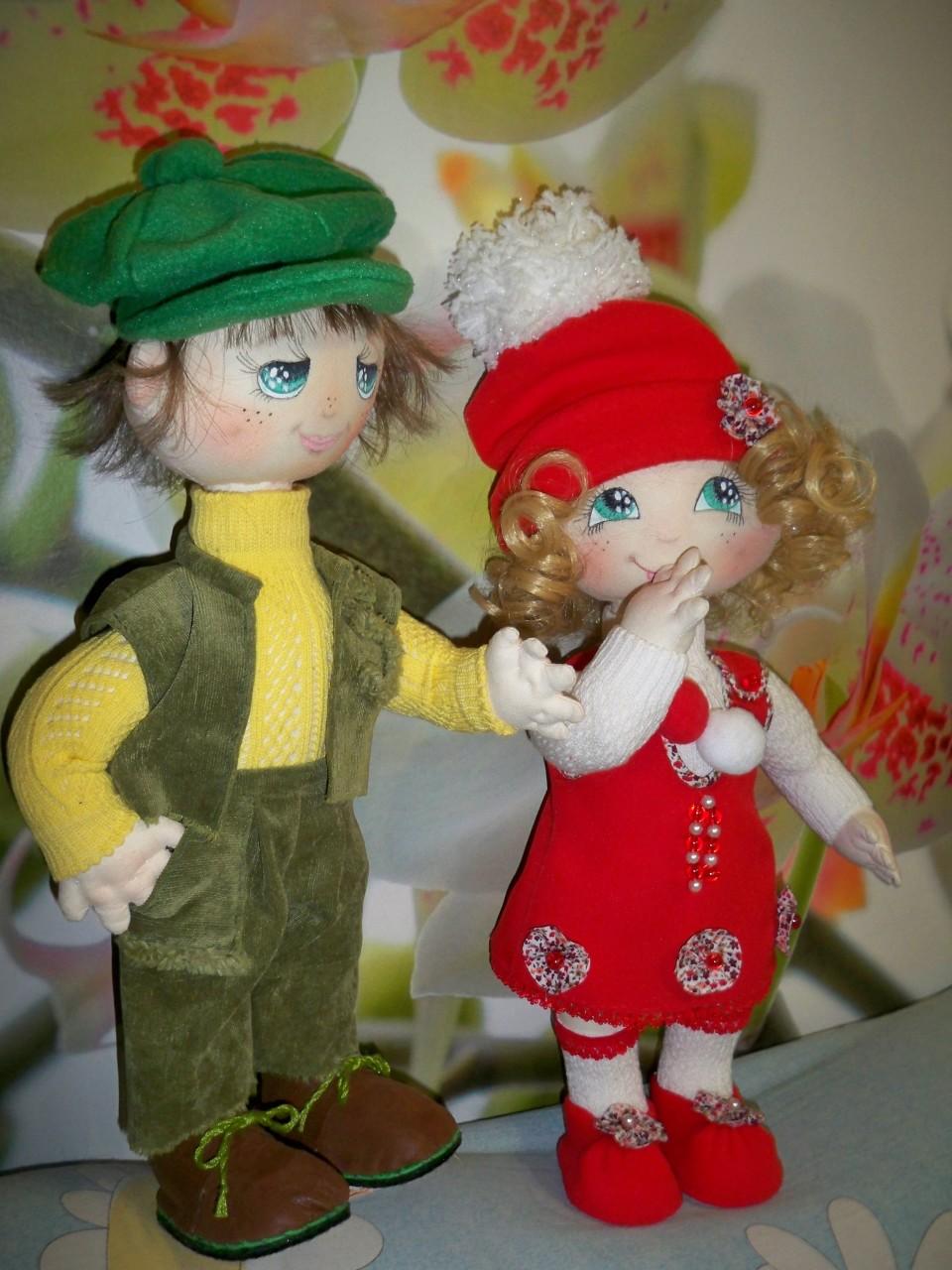 Мои текстильные куклы.
