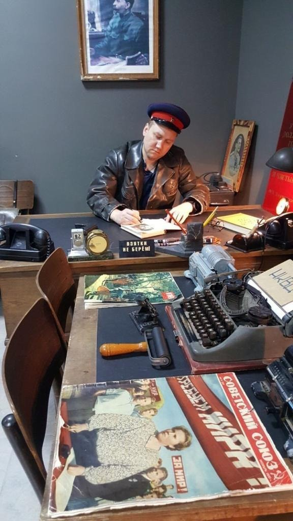 В Петербурге назначен новый начальник Центра «Э». СМИ нашли его фото в форме НКВД