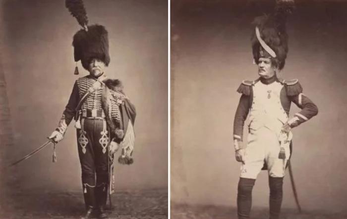 160 лет назад: Уникальные старинные фотографии ветеранов наполеоновских войн