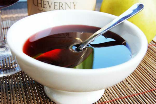 Желе из вина рецепт