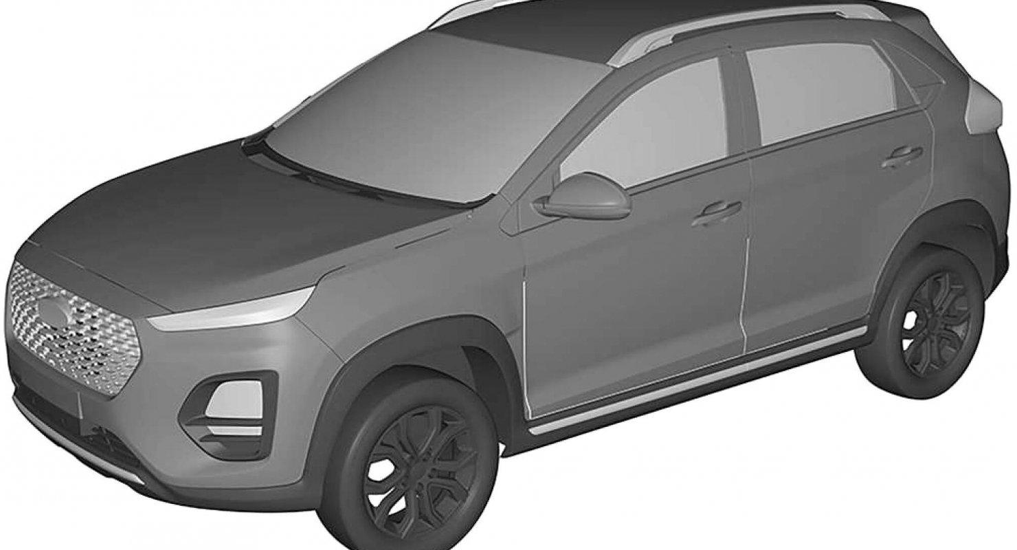 Chery зарегистрировал в России внешний вид бюджетного кроссовера Автомобили