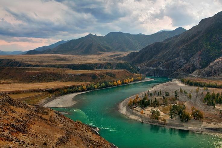 Reka Chuya krasota Altaya 1