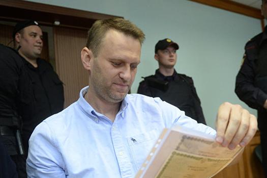 ФСИН просит отправить Навального в колонию