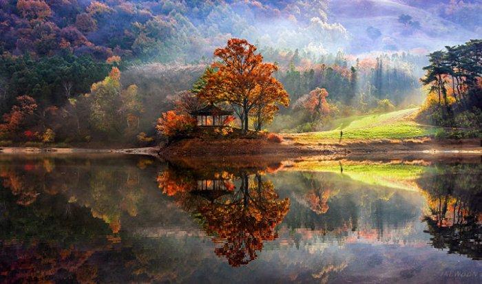 Зеркальные пейзажи Чже Вун Ю