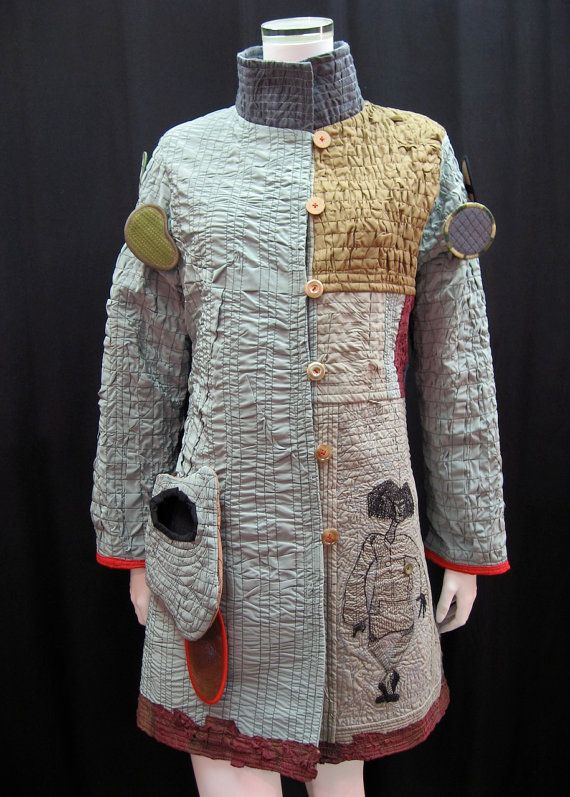 Wearable art jacket by Danny Mansmith:
