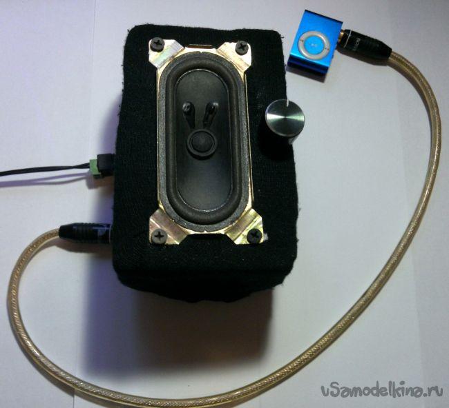 Простейший усилитель звука на одном транзисторе за 15 минут