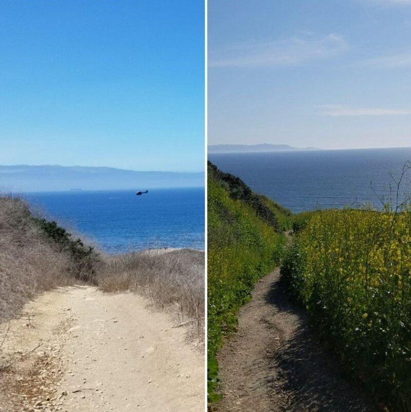 11. «Южная Калифорния до и после влажной зимы» в мире, подборка, природа, удивительно, фото