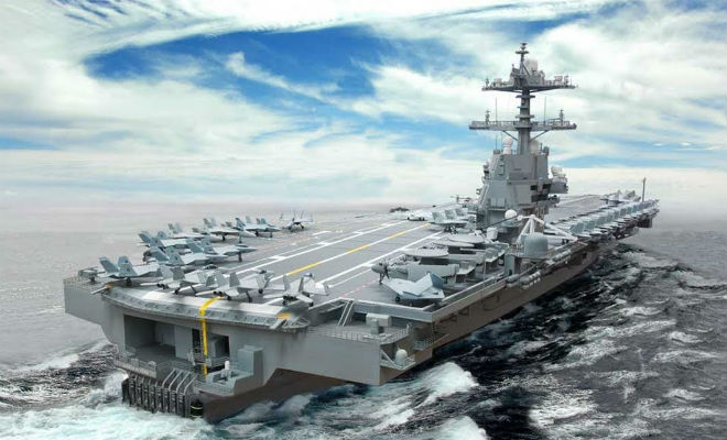 5 самых дорогих авианосцев в мире: плавучие крепости